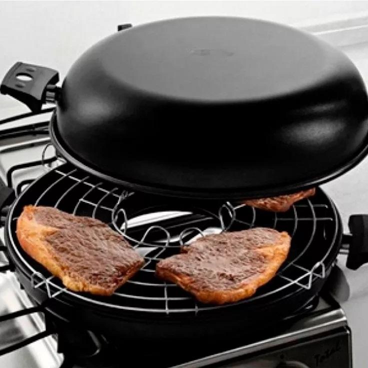 penela grelha para fogão sem fumaça