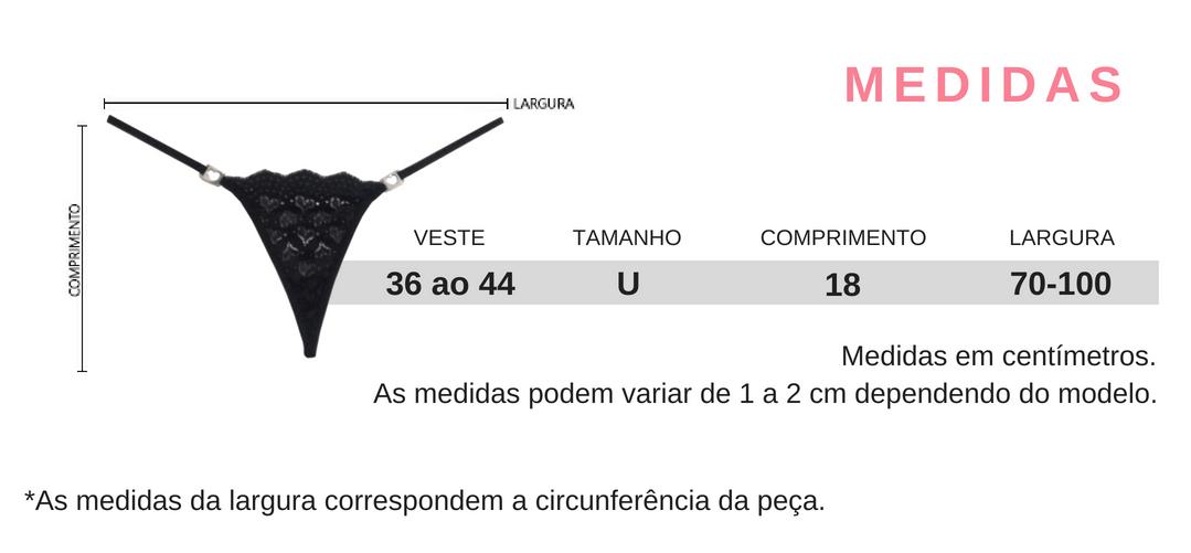 20b4a73a6 Calcinha Micro Fio Dental de Renda Amore - Sua Loja de Calcinhas Sexy