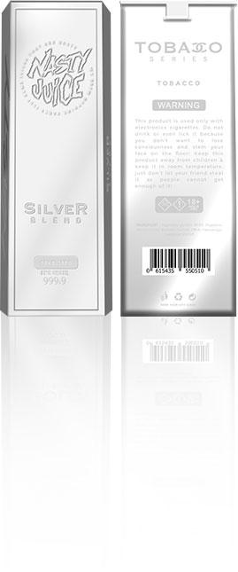 nasty juice tobacco silver