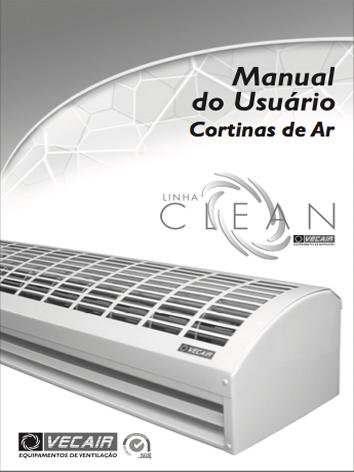 Manual Cortina de ar