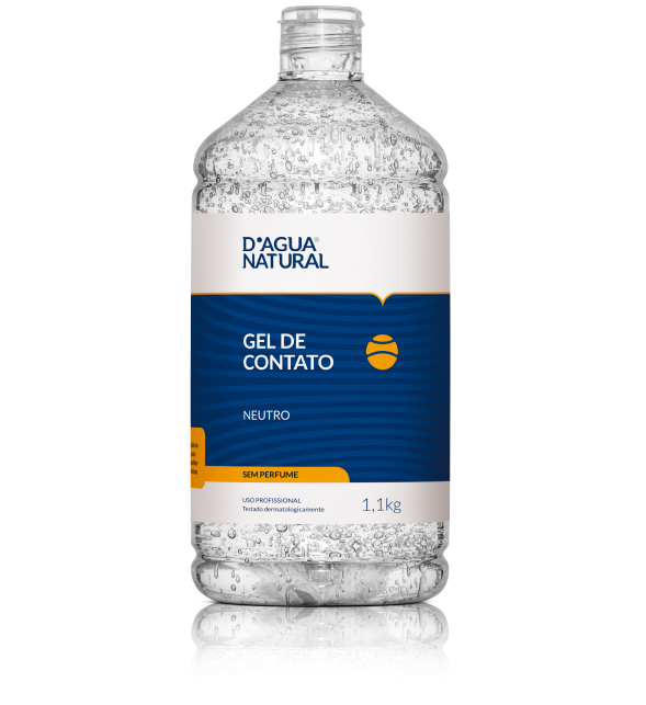 D'Água Natural Gel de Contato Neutro Sem Perfume - 1,1kg