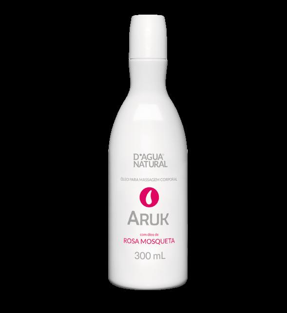 Óleo de Massagem Aruk Rosa Mosqueta Anti Estrias D'Água Natural