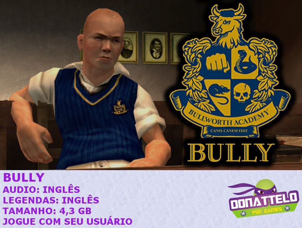Bully ps3 psn