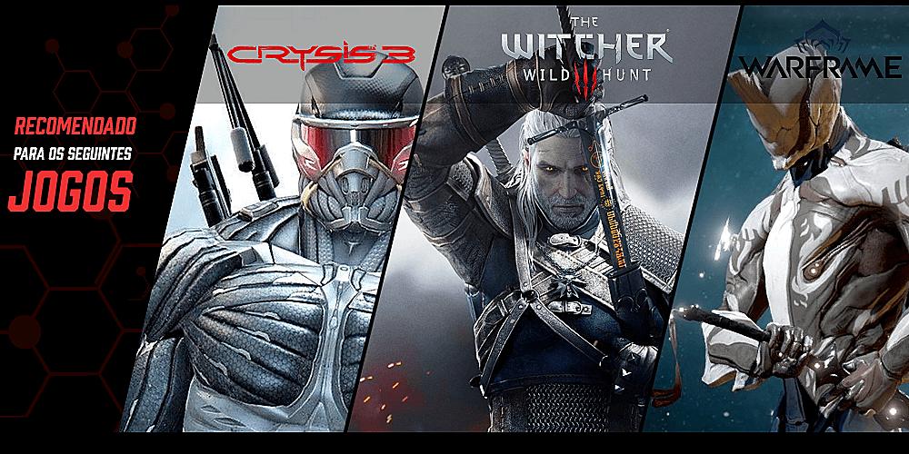 pc gamer para jogar warframe crysis 3 the witcher