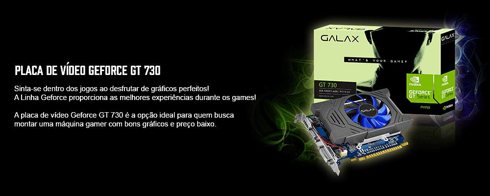 placa de video galax barata gt 730