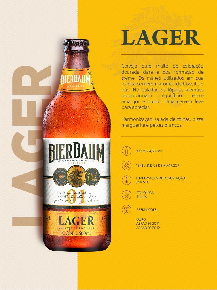 Cerveja Lager Bierbaum