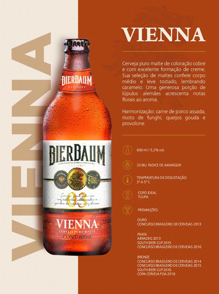 Cerveja Bierbaum Vienna