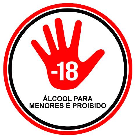 Álcool para menores é proibido