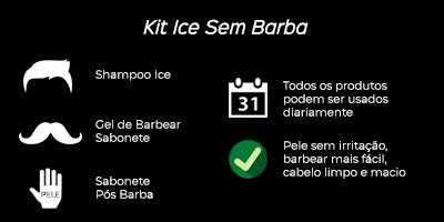 indicação kit ice sem barba