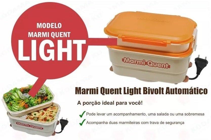 Marmita Elétrica Marmi Quent Light BILVOT A Vapor + Saladeira