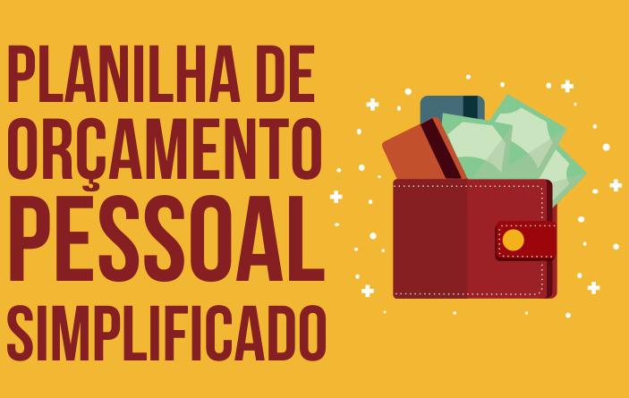 PLANILHA DE ORÇAMENTO FAMILIAR SIMPLES PARA INICIANTES