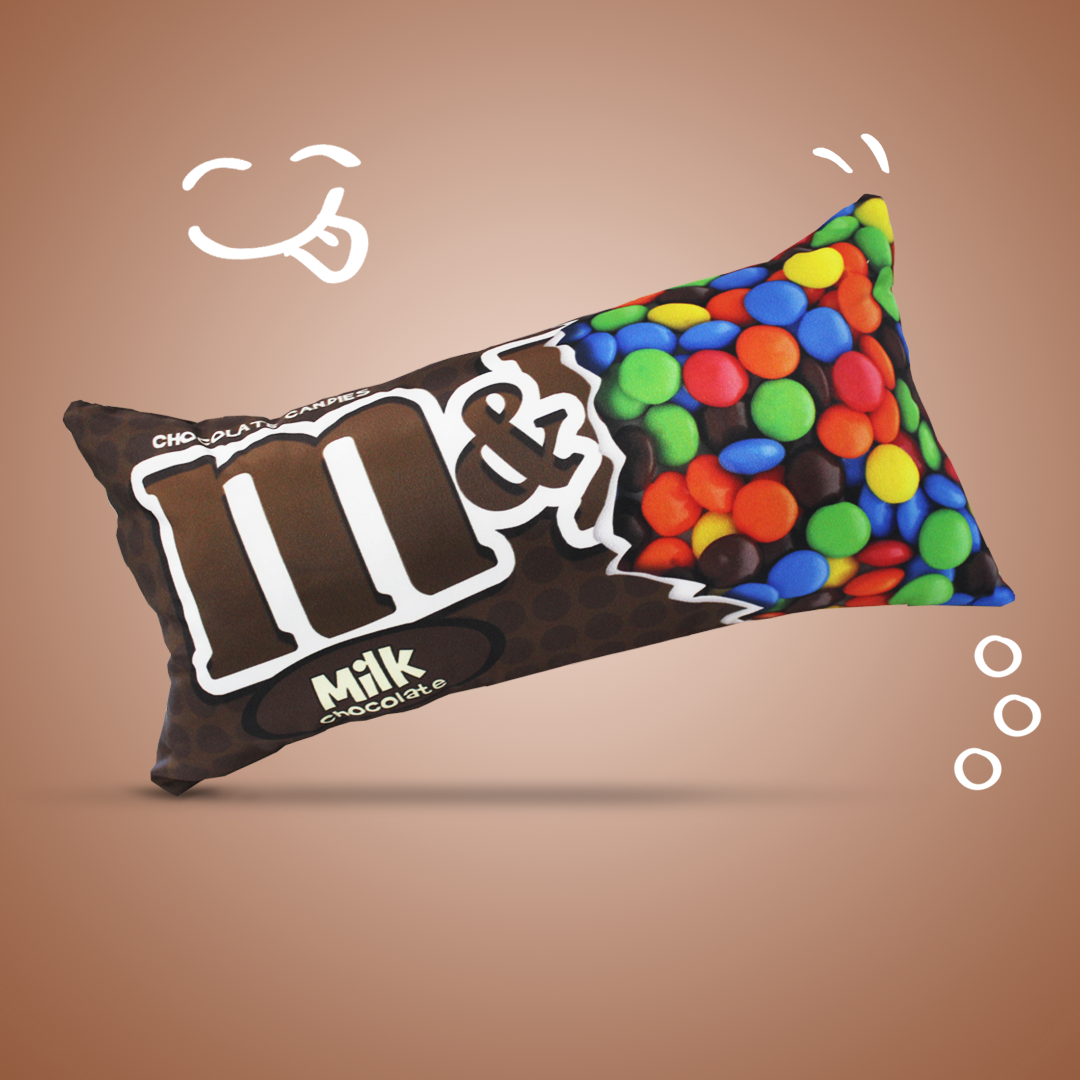 Almofada MMs Chocolate