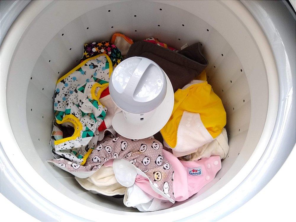 fraldas ecológicas - como lavar e secar - 2