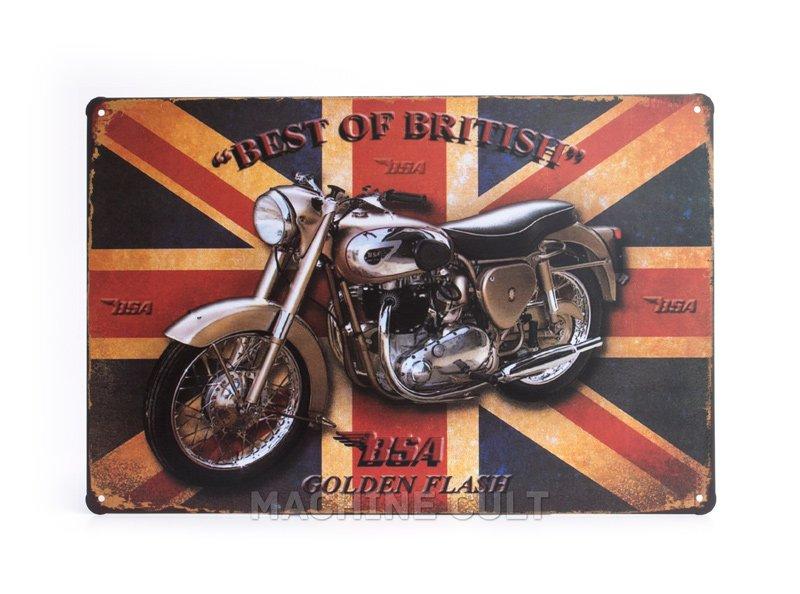 Placa Triumph Presentes para Motociclistas