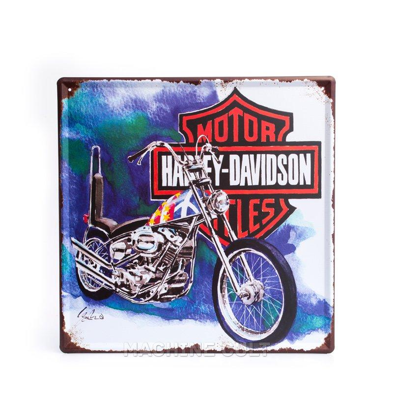 Placa Harley-Davidson Presentes para Motociclistas