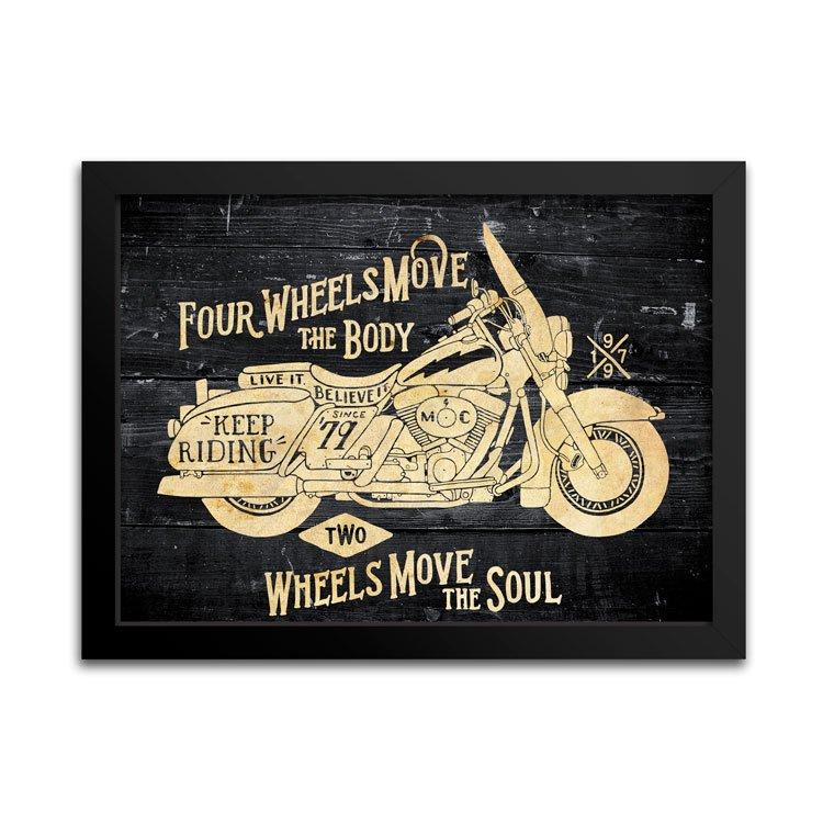 Quadro Harley-Davidson Presentes para Motociclistas