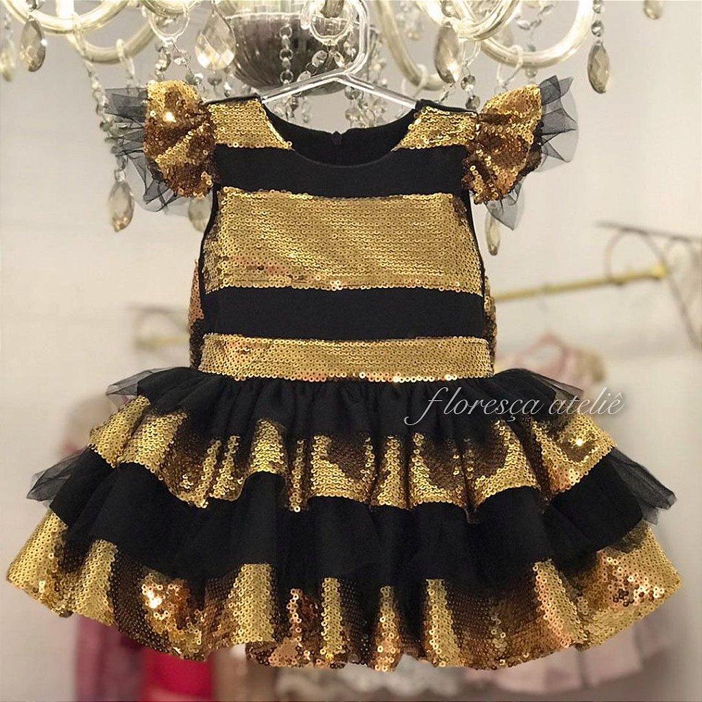 Vestido De Luxo Boneca Lol Queen Bee Floresca Atelie Floresca Atelie Infantil