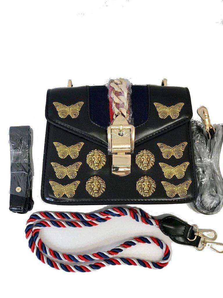 1aeeb6baa Inspiração Sylvie Animal Studs Leather Mini Bag - O melhor estilo é ...