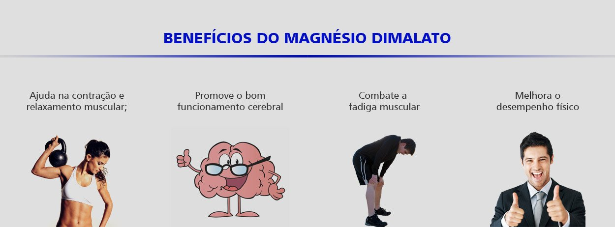 beneficios do magnésio dimalato