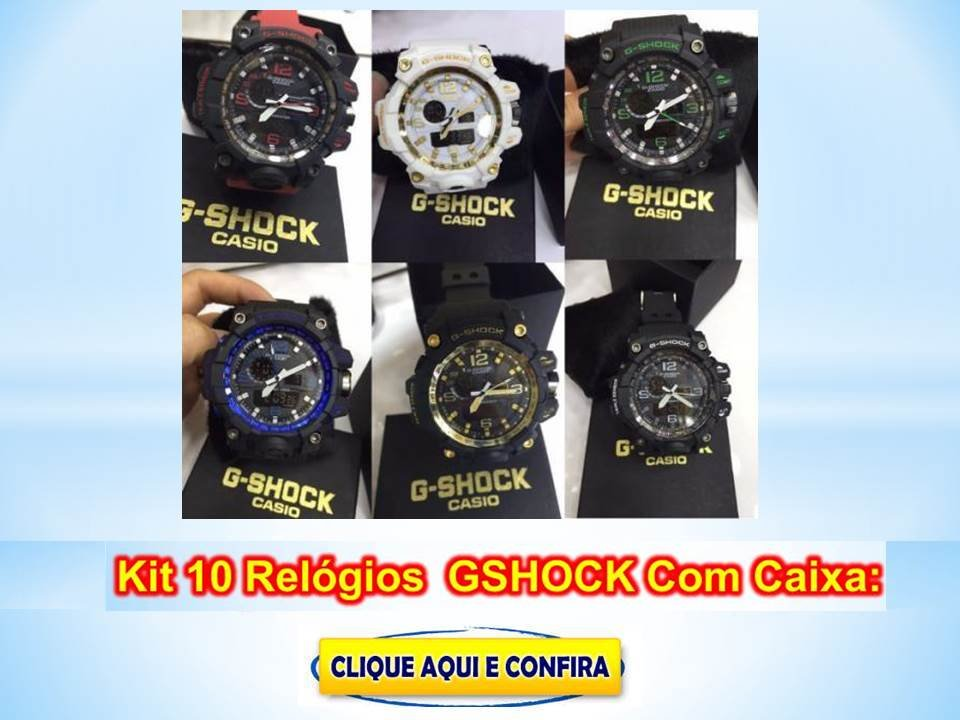Relógios G Shock Masculinos Militar Baratos No Atacado
