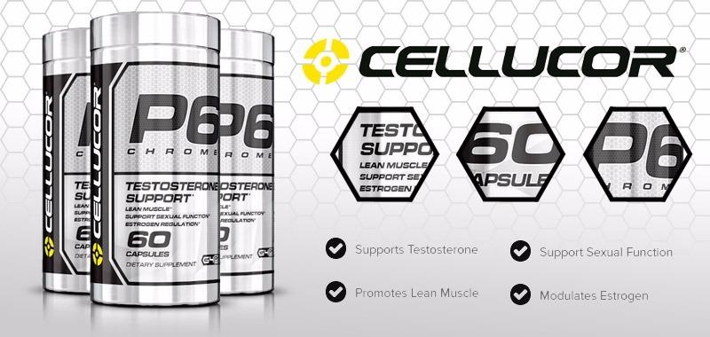 banner-p6-chrome-cellucor-60-capsulas-primo-suplementos