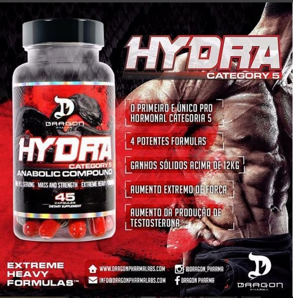 Hydra Dragon Pharma 45 cápsulas