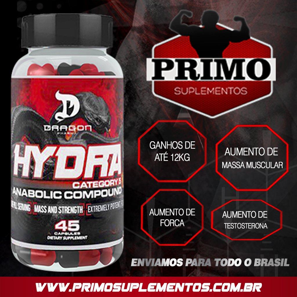 Hydra Dragon Pharma - Compre na Primo Suplementos
