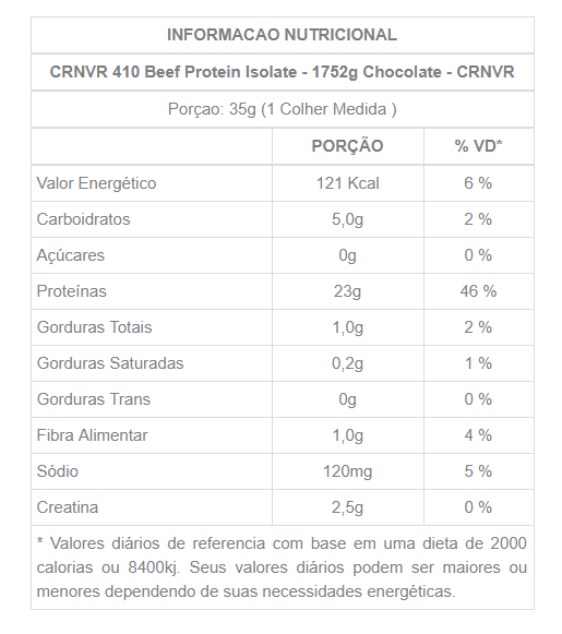 tabela-nutricional-CRNVR 410 BEEF PROTEIN 1752G-PRIMO-SUPLEMENTOS.PNG