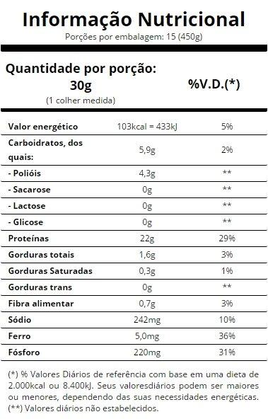 tabela-nutriconal-veggie-protein-vanilla-essential-nutrition-primo-suplementos