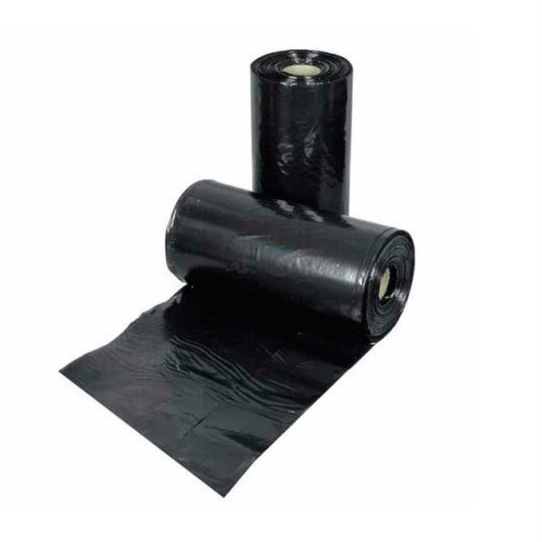 lona plástica preta 100micras