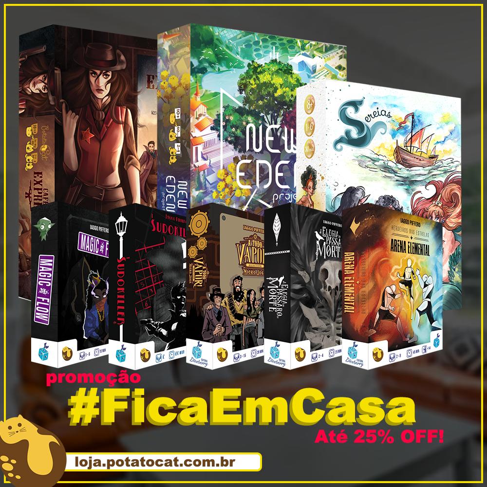 Promo #FicaEmCasa