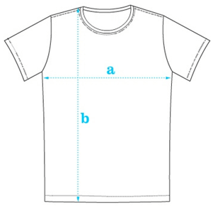 Tabela de Medidas para Camisetas