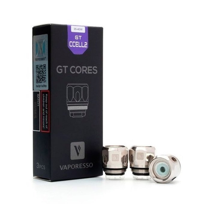 resistencia gt ccell 2 gt cores vaporesso