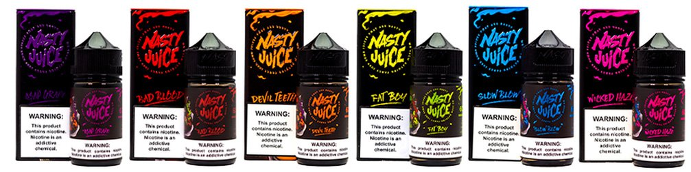 Nasty Juice All Flavours