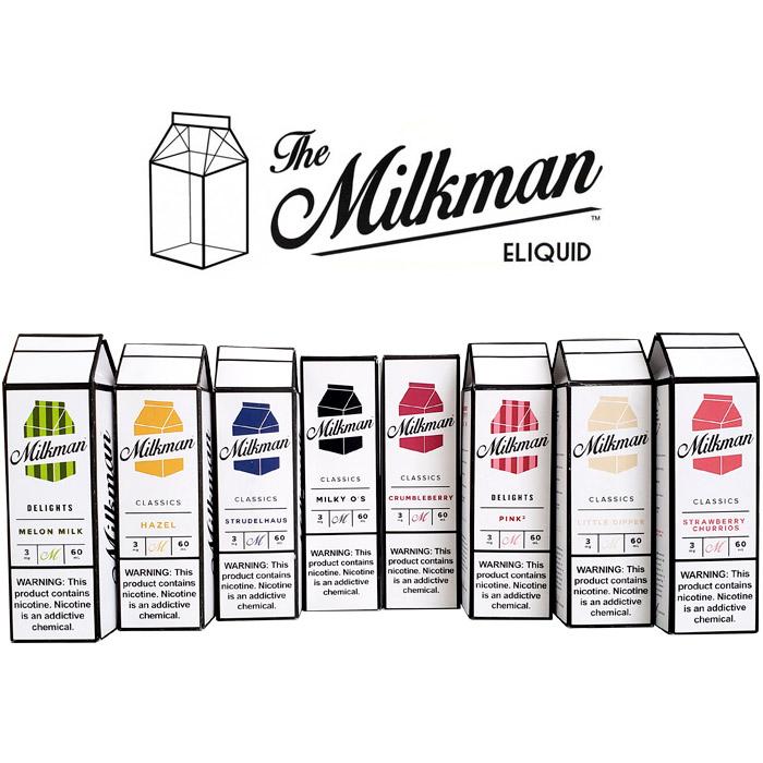The Milkman Eliquid Juice