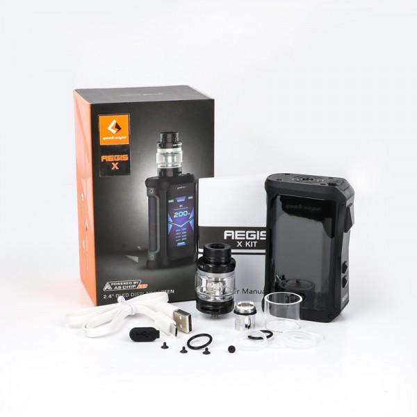 Kit Aegis X 200W com Atomizador Cerberus - Geekvape