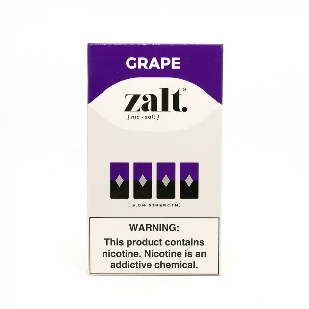 Pods C/ Líquido Grape - Zalt