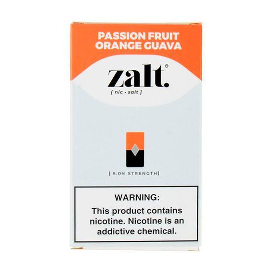 Pods C/ Líquido Passion Fruit Orange Guava - Zalt