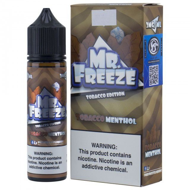 Líquido Tobacco Menthol - Mr. Freeze