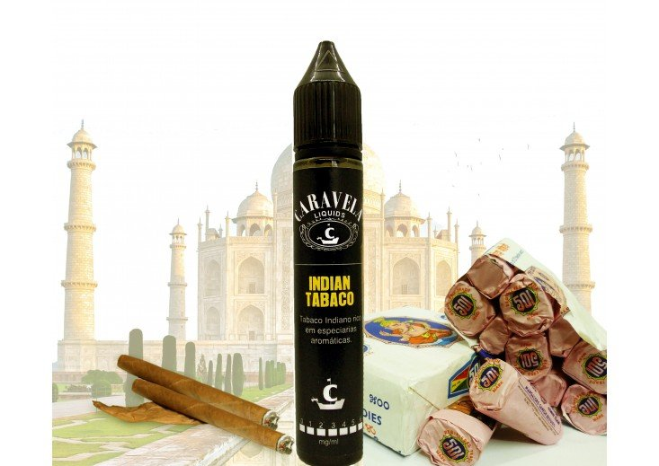 Líquido Indian Tabaco - Caravela