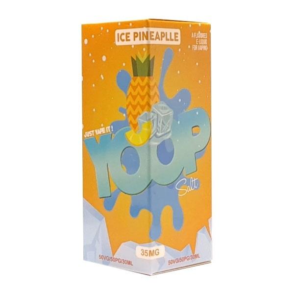 Líquido Ice Pineapple - SaltNic / Salt Nicotine - YOOP