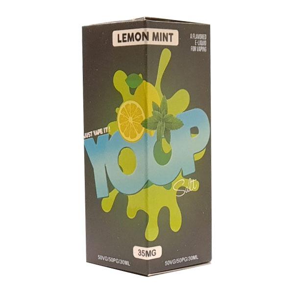 Líquido Lemon Mint - SaltNic / Salt Nicotine - YOOP