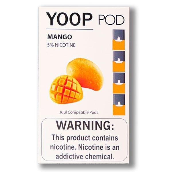 PODs c/ Líquido p/ YOOP - MANGO - YOOP