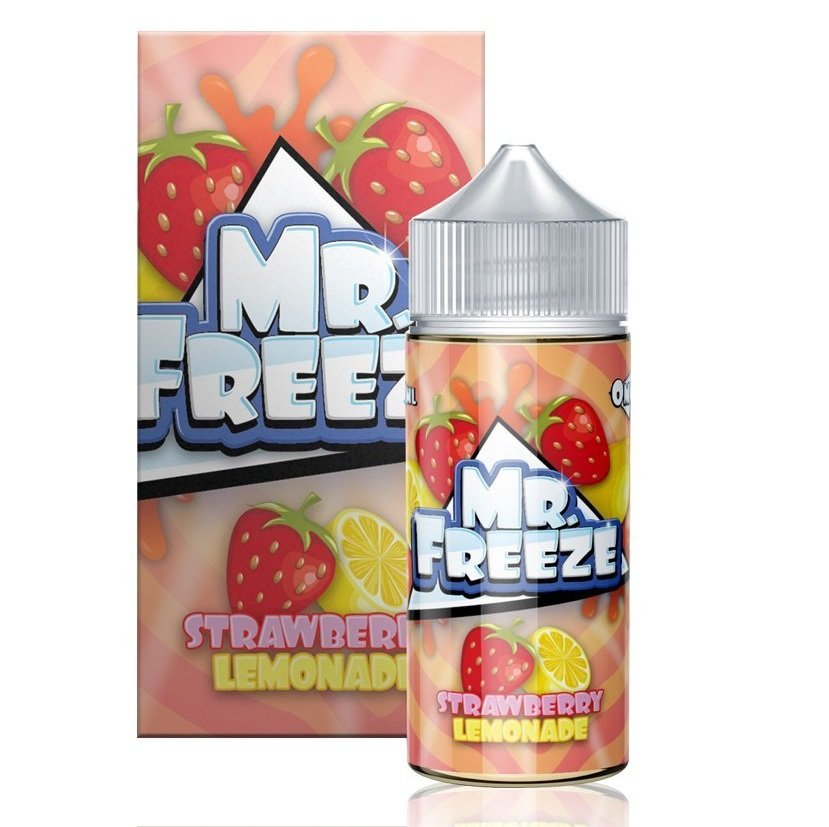 Líquido Strawberry Lemonade - Mr. Freeze