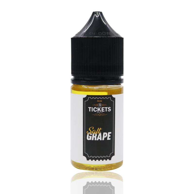 Líquido Grape - SaltNic / Salt Nicotine - Tickets Brew.Co