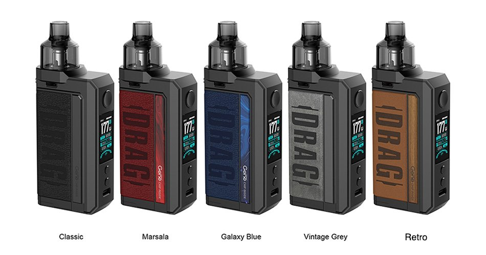 Kit Drag Max 117w - VOOPOO