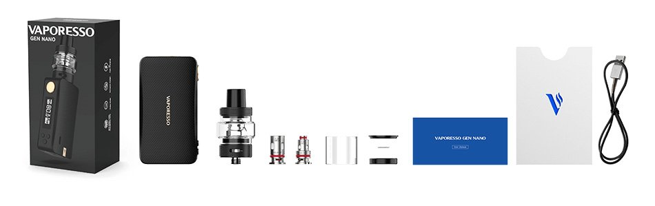 Kit Gen Nano 2000mAh c/ Atomizador GTX 22 - Vaporesso