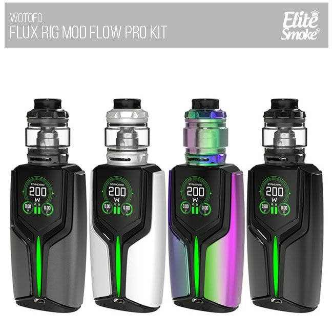 Kit Flux 200W TC com Flow Pro SubTank  - WOTOFO
