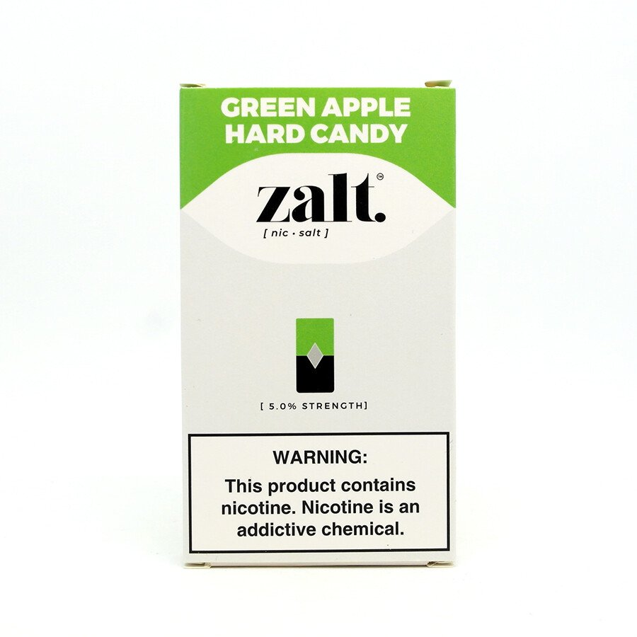Pods C/ Líquido Green Apple Hard Candy - Zalt