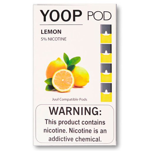PODs c/ Líquido p/ YOOP - LEMON - YOOP